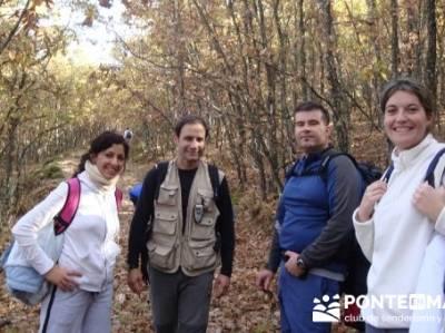 Dehesa de la Umbría de Montejo de la Sierra- Sierra de Madrid; excursiones y senderismo; fin de sem